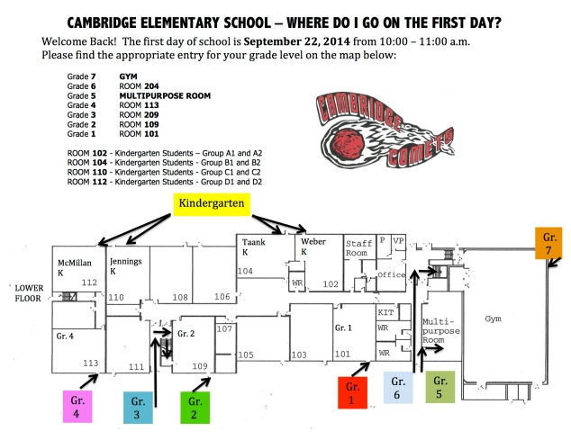 MAP Cambridge First Day