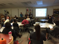 Super turnout for the October 20 PAC Meeting.