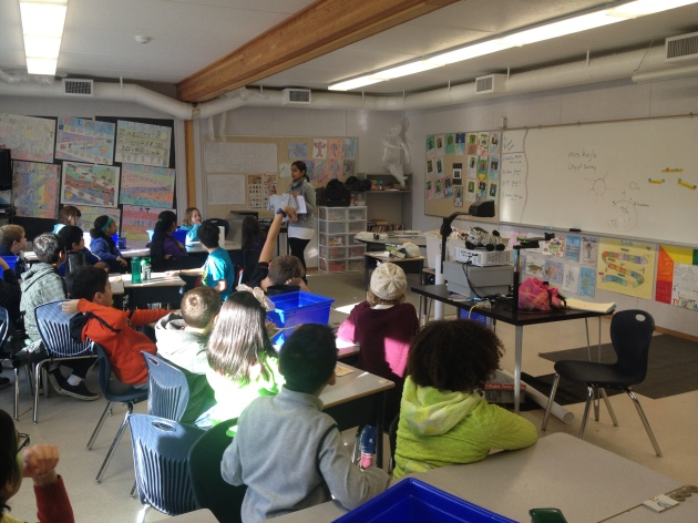 SWAP presentations - reinforcing the importance of recycling.