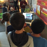 Connecting with others via MysterySkype