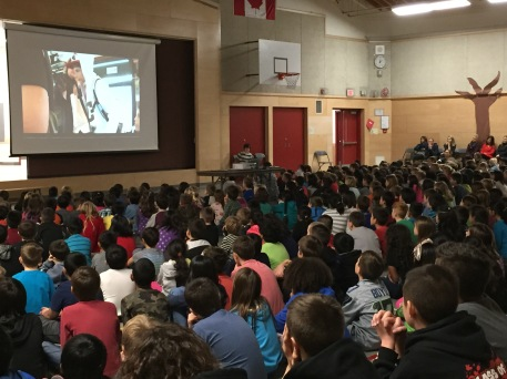 Thoughtfulness videos at our Friday assembly