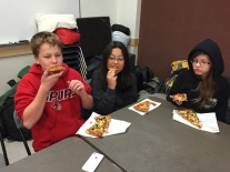 Feast after the famine.