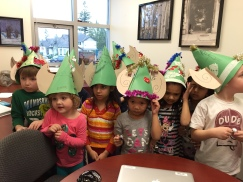 How many kinders can fit into the Principal's office?