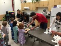 Pancake assembly line