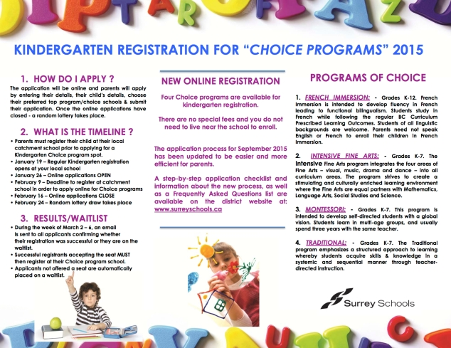 Choice Program Flyer