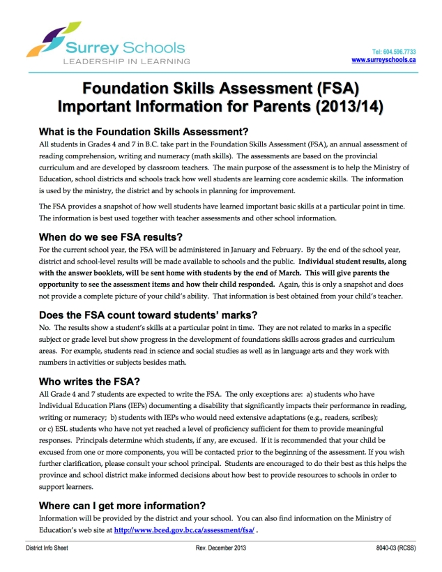 FSA-InfoForParents