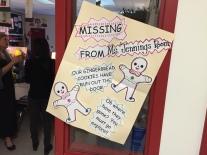 Kindergarten detective went investigating this week.