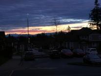Gorgeous sunrise at Cambridge