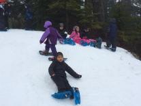 Grade 1 Snowshoeing