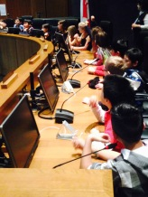 Grade 3 visit to Surrey City Hall