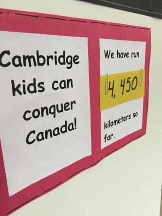 Running club kilometres adding up!