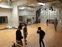 Grade 7 students tour Sullivan Heights dance studio