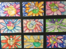 Beautiful Grade 3 art.