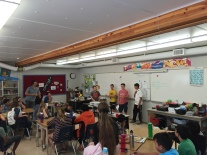 Grade 7 students present their Sports Day ideas