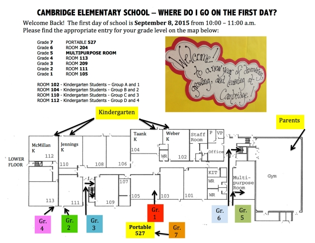 MAP Cambridge First Day 15-16