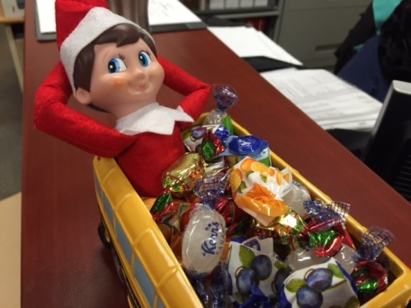 Buddy, the Cambridgelearns Elf