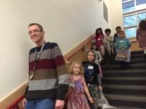Mr. Beale...future Kindergarten teacher??? ;-)