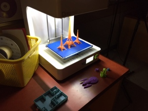 3D objects designed and printed by a Cambridge learner