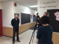 Mr. Morrison is interviewed about digital portfolios by the Vancouver Sun