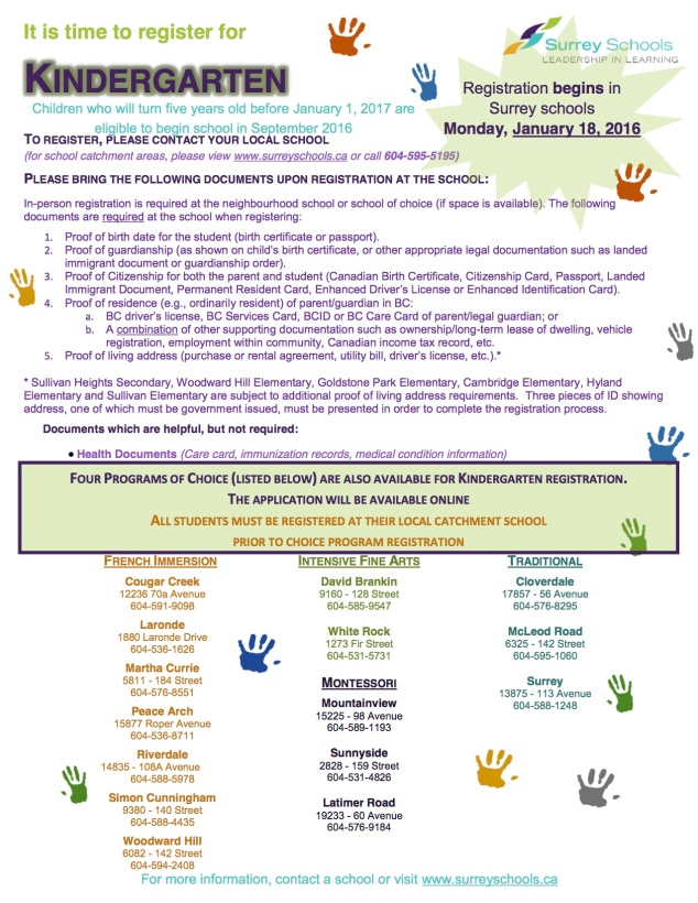 New K Registration flyer-2016-17