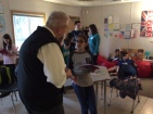 Student leaders share their learning with visitors from Sechelt