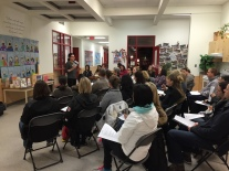 A great turnout for our sexual education parent information session on Monday