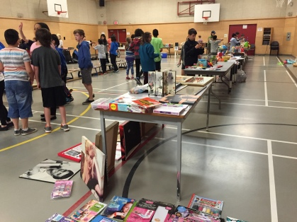 Grade 7 Garage Sale - Thank you for helping raise over $1100!!!