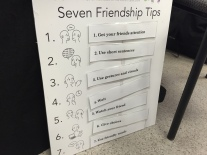 Puppet presentation teaches important friendship tips