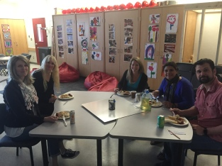 Thank you parents for the wonderful lunch!