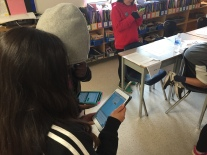 Student access their FreshGrade accounts for the first time