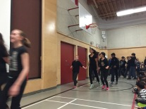Never too cool for school - Division 2 and 3 dance the Troika