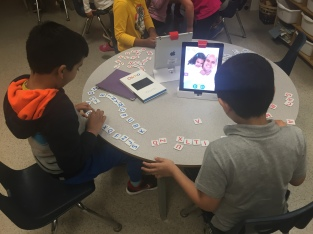 Learning letters sounds with OSMO