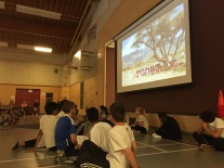 Division 4 introduces the FREE the CHILDREN coin drive at our May assembly