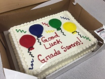 Good luck Grade Sevens!