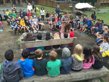 Grade 3 classes visit Fort Langley