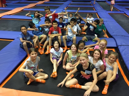 Skyzone fieldtrip fun