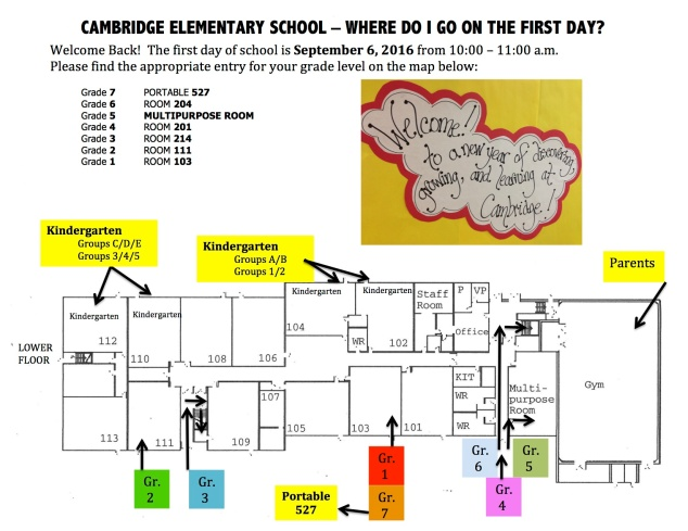 MAP Cambridge First Day 16-17