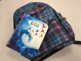 Planner and Backpack