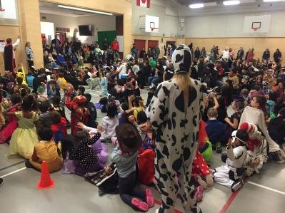 Primary Halloween Parade