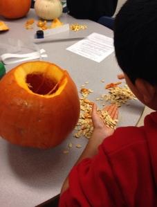 Serious pumpkin math