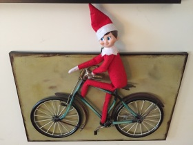 elf-on-bike