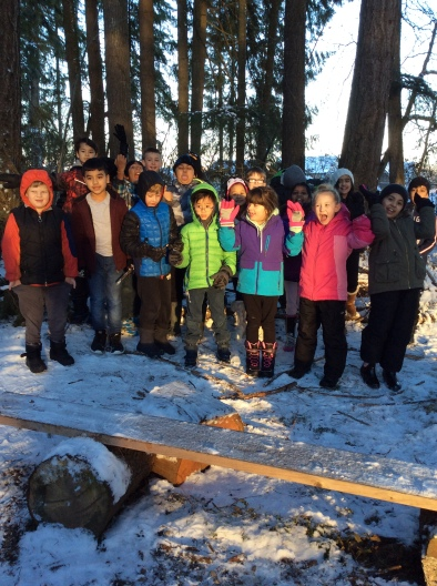 Div 15 in our Forest Classroom