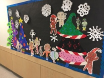 Holiday Art Mural