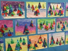 Div 13 festive trees