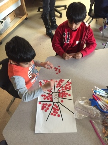 Counting by 10s to 100