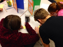 Gr.7 students participating in Estimation Challenge