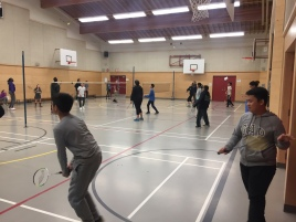 Classroom badminton program