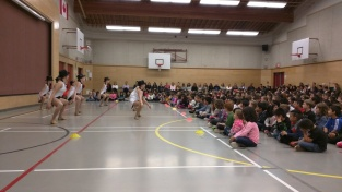 PYC dance presentation